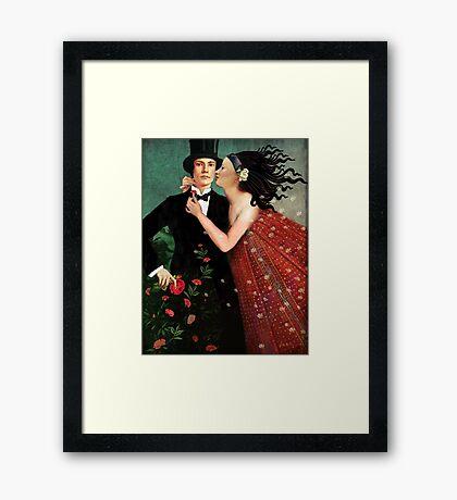 The Art of Seduction Framed Print