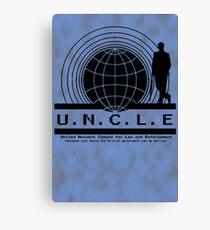 UNCLE Mycroft Canvas Print