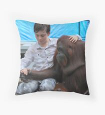 William and Siswi - Holding Hands Throw Pillow