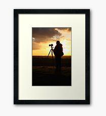 500D Shoots 5D Mark III Framed Print
