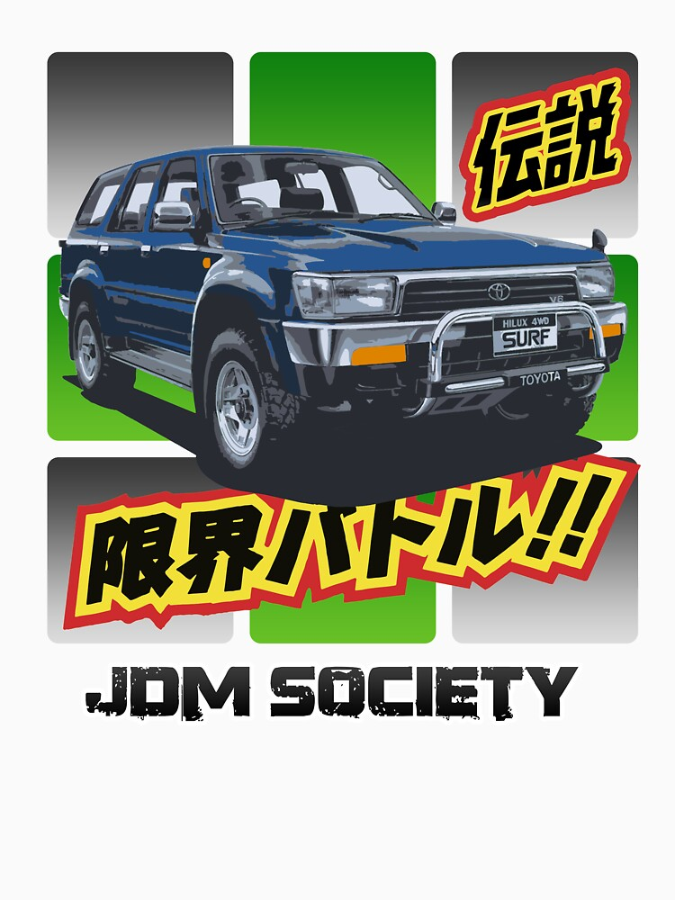 Toyota Hilux 4Runner Surf Wide by carsaddiction