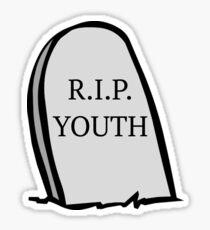 R.I.P. YOUTH Sticker