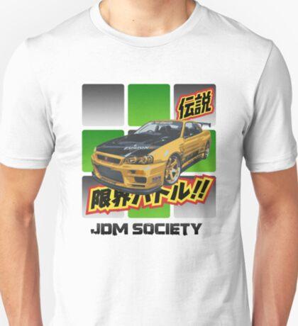 Top Secret Skyline GT-R T-Shirt