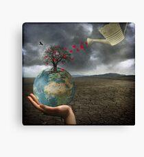 Celebrate earth day...everyday! Leinwanddruck