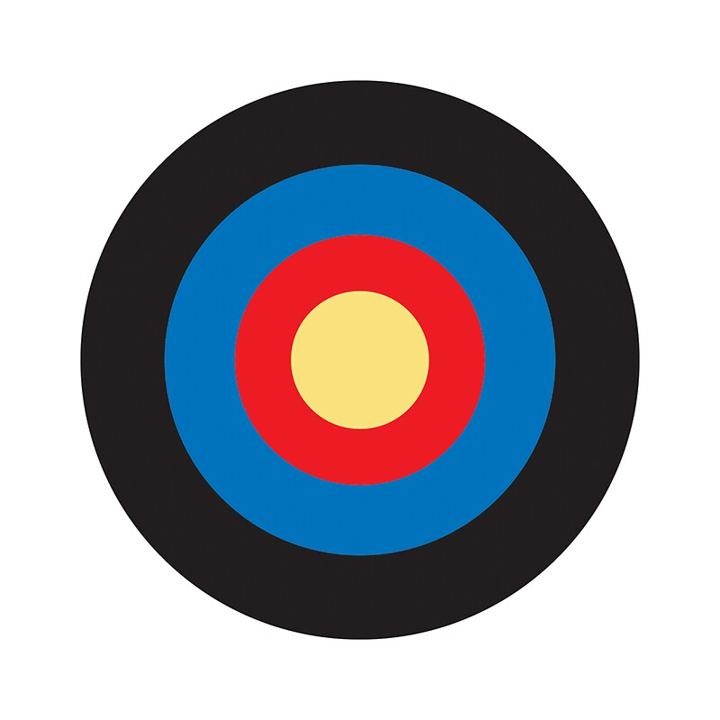 Quot Bulls Eye Right On Target Roundel Archery Mod Hit