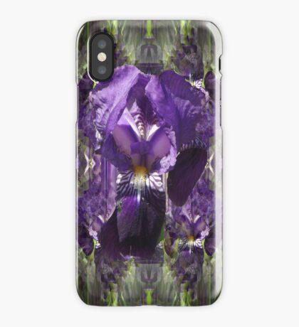 Blue Iris i phone 4 iPhone Case/Skin