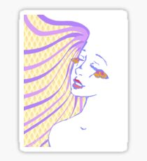 Butterfly Lashes Sticker