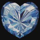 Blue diamond shirt by Margherita Bientinesi