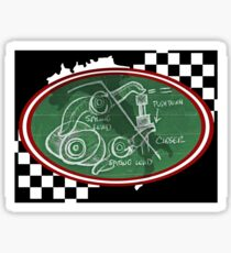 Desmo Valve Illustration Sticker