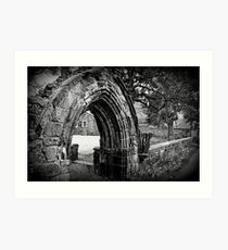 Carlisle Cathedral- The Grounds Art Print