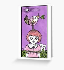 Watch the Birdy Greeting Card