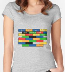 Brick in the wall Women's Fitted Scoop T-Shirt