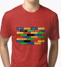 Brick in the wall Tri-blend T-Shirt