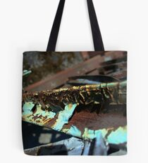 Time's Texture Tote Bag