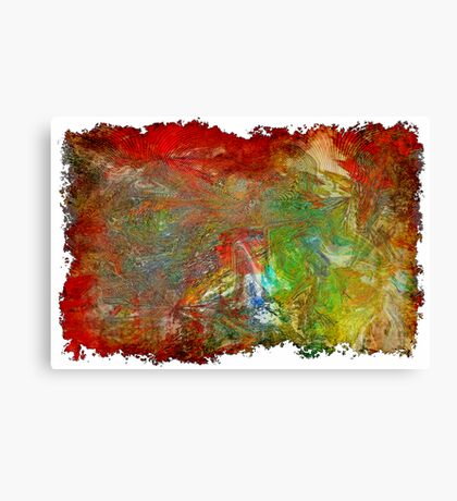 The Borders of a Dream Canvas Print