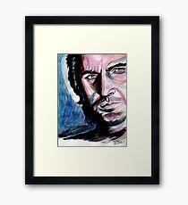 Richard Armitage, sweet dark Guy Framed Print