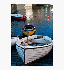 Boats in Torno Photographic Print
