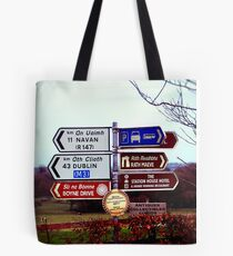 Which Way Do I Go? Tote Bag