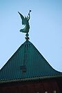 Angel of Judgement, Angel Gabriel - St. Marys Historical Church by John Schneider