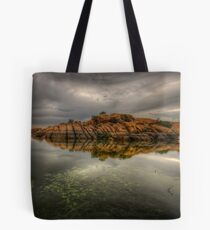 Rocky Point Wide Tote Bag