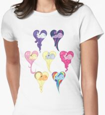 Group Heart Women's Fitted T-Shirt