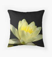 Pond Lily Lightness Throw Pillow