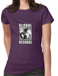 Global Records Womens Fitted T-Shirt