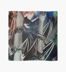 Bamboo Abstract in Encaustics Scarf