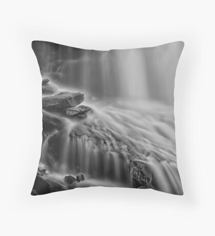 Flow Gently Throw Pillow