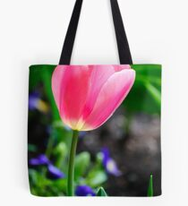 Pinkish Tulip Tote Bag