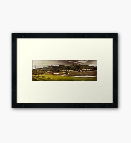 Mudgee Panorama Framed Print