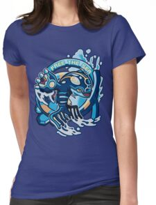 Free The Sea Womens Fitted T-Shirt