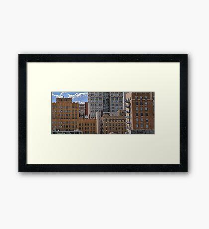 Inside Omaha Framed Print