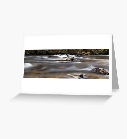 Autumm Flow  Greeting Card
