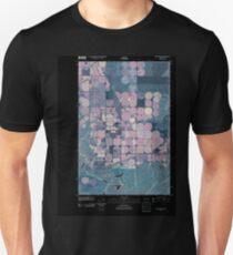 USGS Topo Map Washington State WA Frischknecht 20110404 TM Inverted T-Shirt
