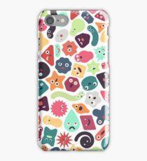 Microbiotic Birthday Bash iPhone Case/Skin