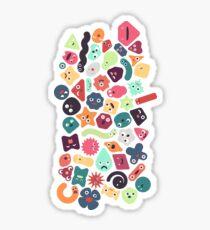 Microbiotic Birthday Bash Sticker