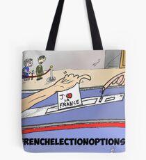Nouvelles Options Binaires en BD élections française Tote Bag