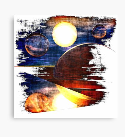 Various Encounters #1 Canvas Print