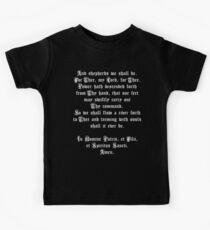 The Shepherd's Prayer Kids T-Shirt