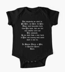 Body de manga corta para bebé La oración del pastor