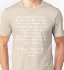 The Shepherd's Prayer Unisex T-Shirt