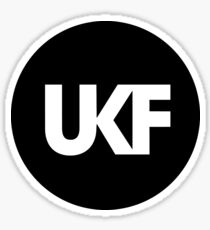 UKF-Black and White Sticker