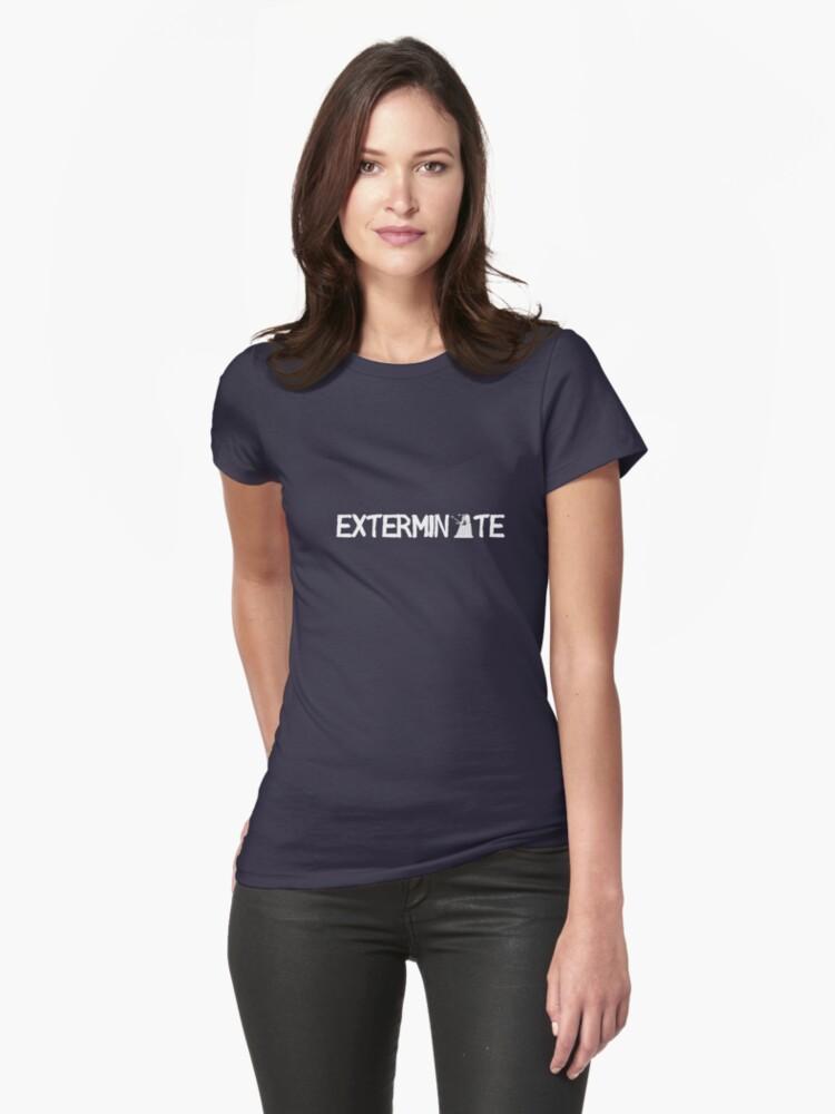EXTERMINATE - White by SallyDiamonds