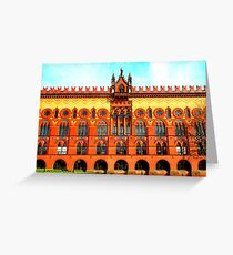 Templeton Carpet Factory ~ Glasgow Green Greeting Card