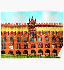 Templeton Carpet Factory ~ Glasgow Green Poster