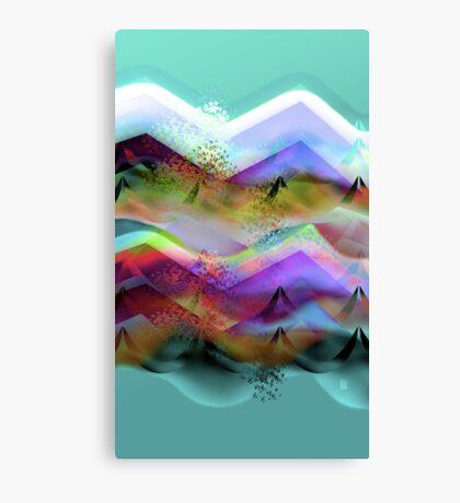Ocean-Race_21 Canvas Print