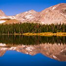 Indian Peaks Reflections by John  De Bord Photography
