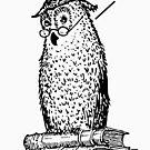 Grammar Owl Says Whom by ironydesigns