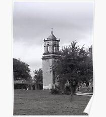 San Jose Mission Bell Tower Poster